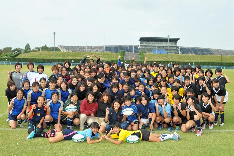 第25回 関東女子ラグビーフットボール大会 初日