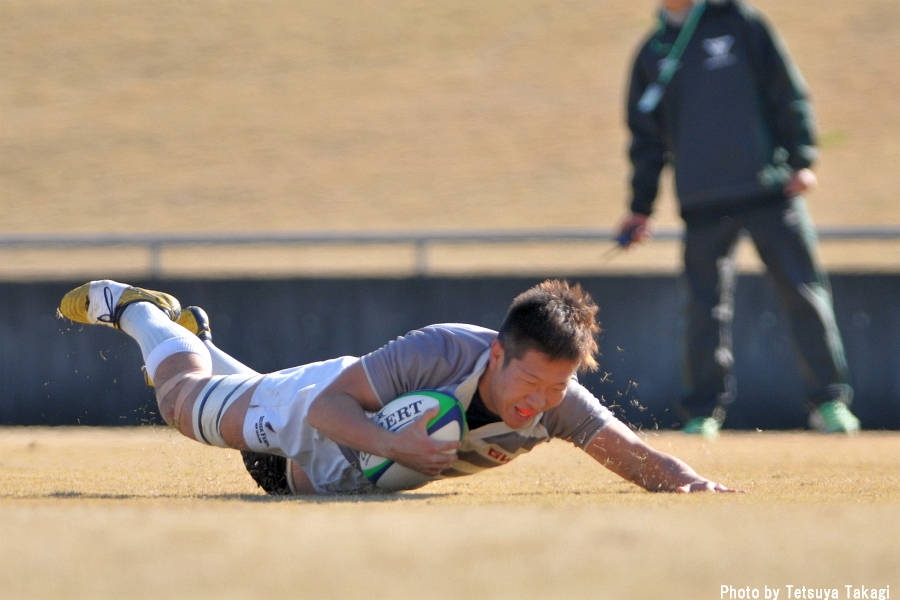 第14回東西学生クラブ対抗試合 早稲田大学GWRC vs 関西学院大学上ヶ原ラグビークラブ