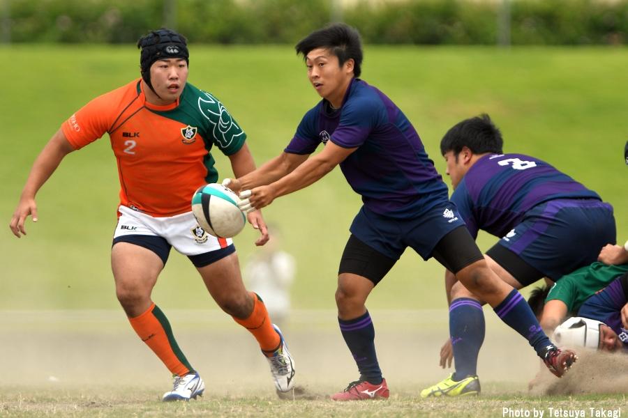 大学ラグビー(さよなら熊谷ラグビー場イベント)立正大-東洋大の写真15