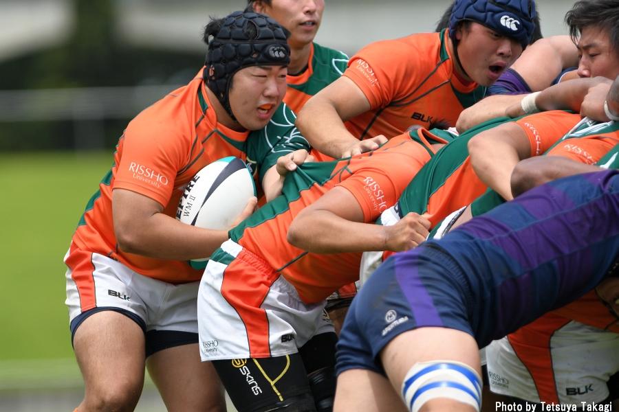 大学ラグビー(さよなら熊谷ラグビー場イベント)立正大-東洋大の写真12