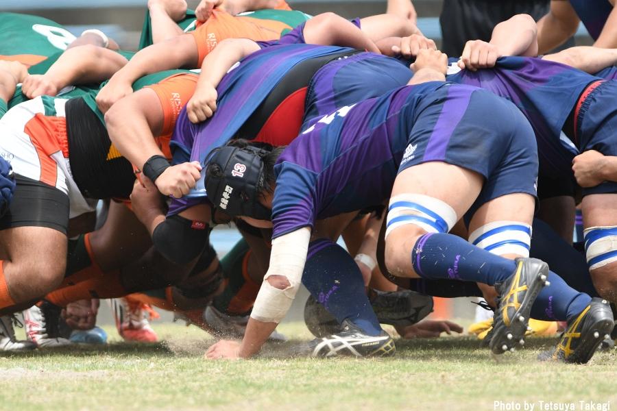 大学ラグビー(さよなら熊谷ラグビー場イベント)立正大-東洋大の写真9