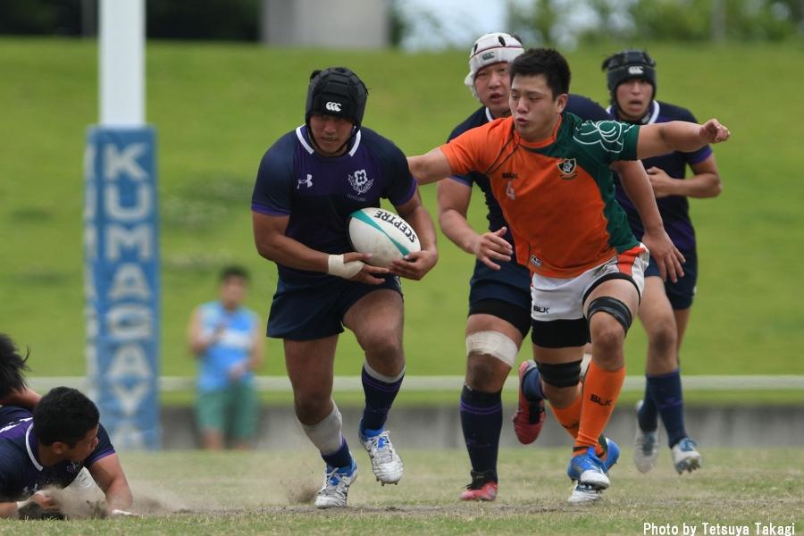 大学ラグビー(さよなら熊谷ラグビー場イベント)立正大-東洋大の写真6