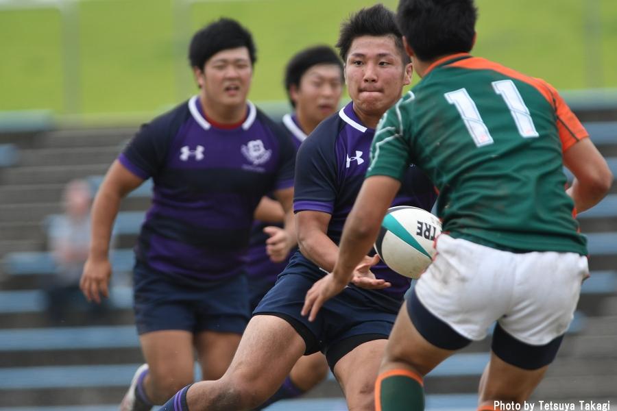 大学ラグビー(さよなら熊谷ラグビー場イベント)立正大-東洋大の写真2