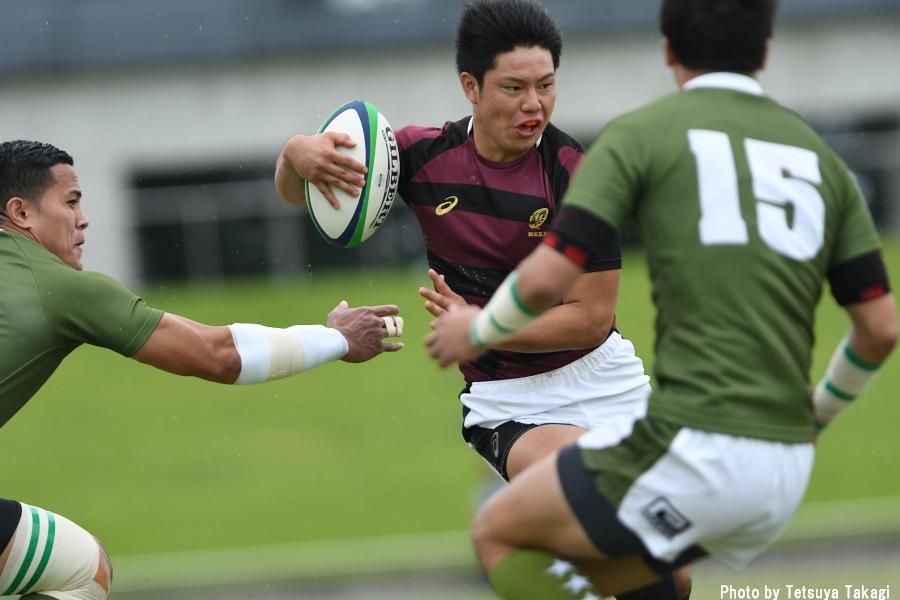 大学ラグビー(さよなら熊谷ラグビー場イベント)大東文化大-早稲田大の写真17