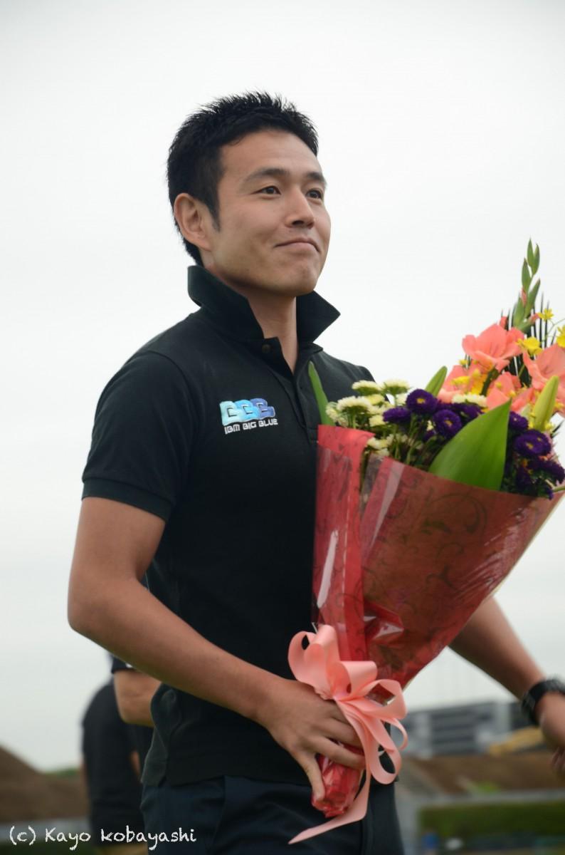 山中選手引退セレモニーの写真の写真2