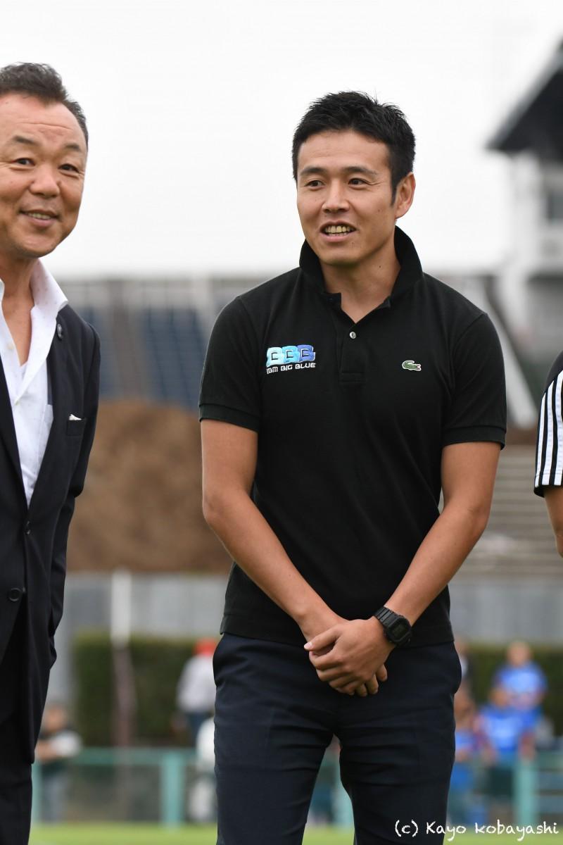 山中選手引退セレモニーの写真の写真11
