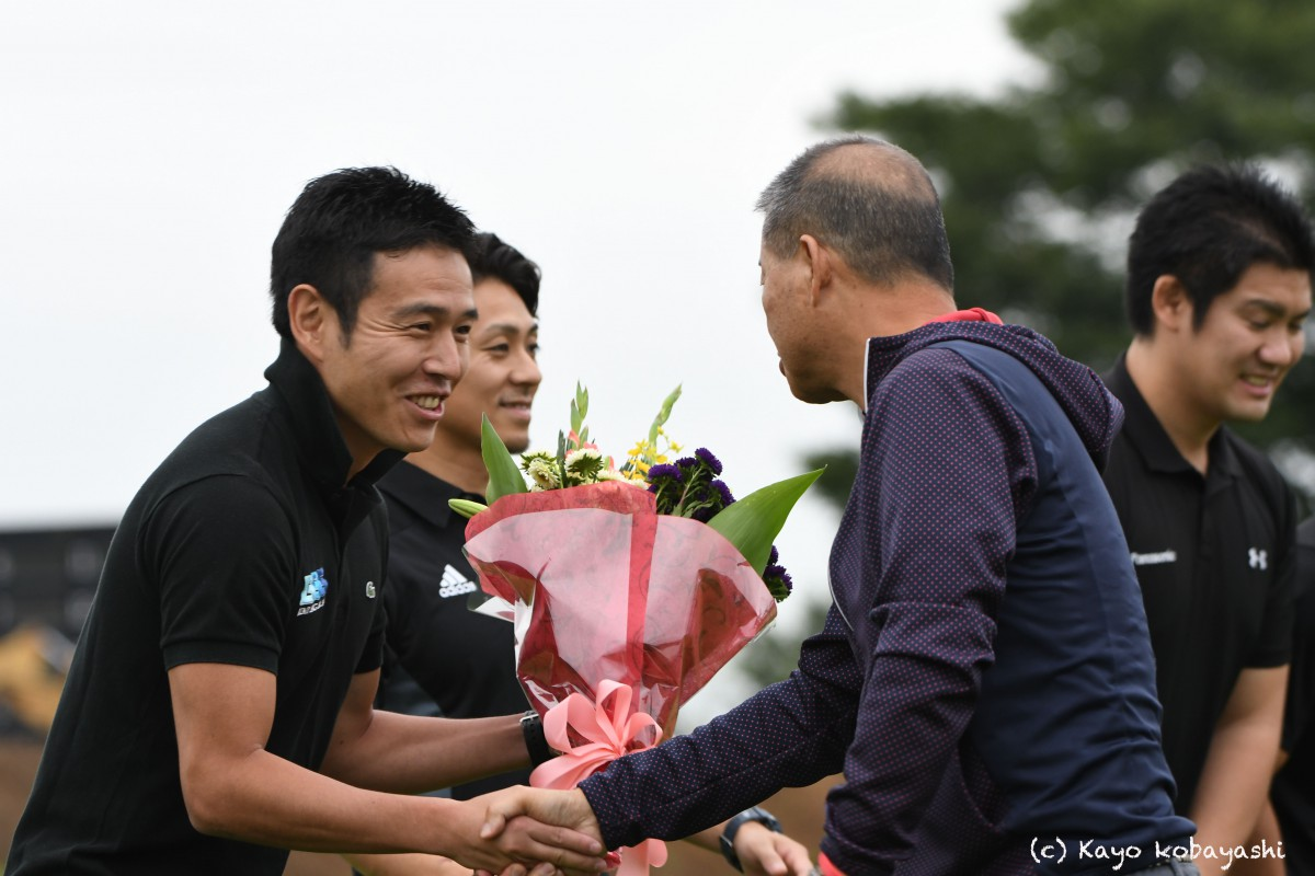 山中選手引退セレモニーの写真の写真10