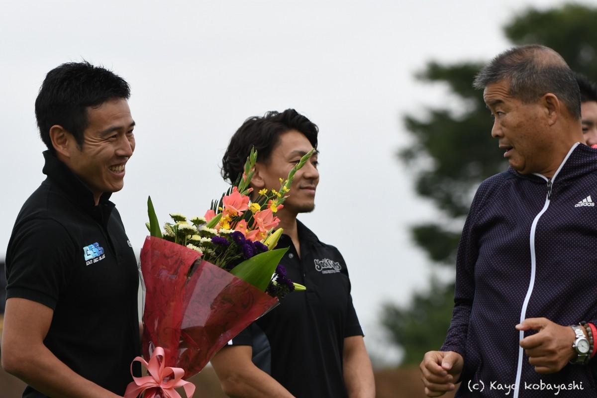 山中選手引退セレモニーの写真の写真9