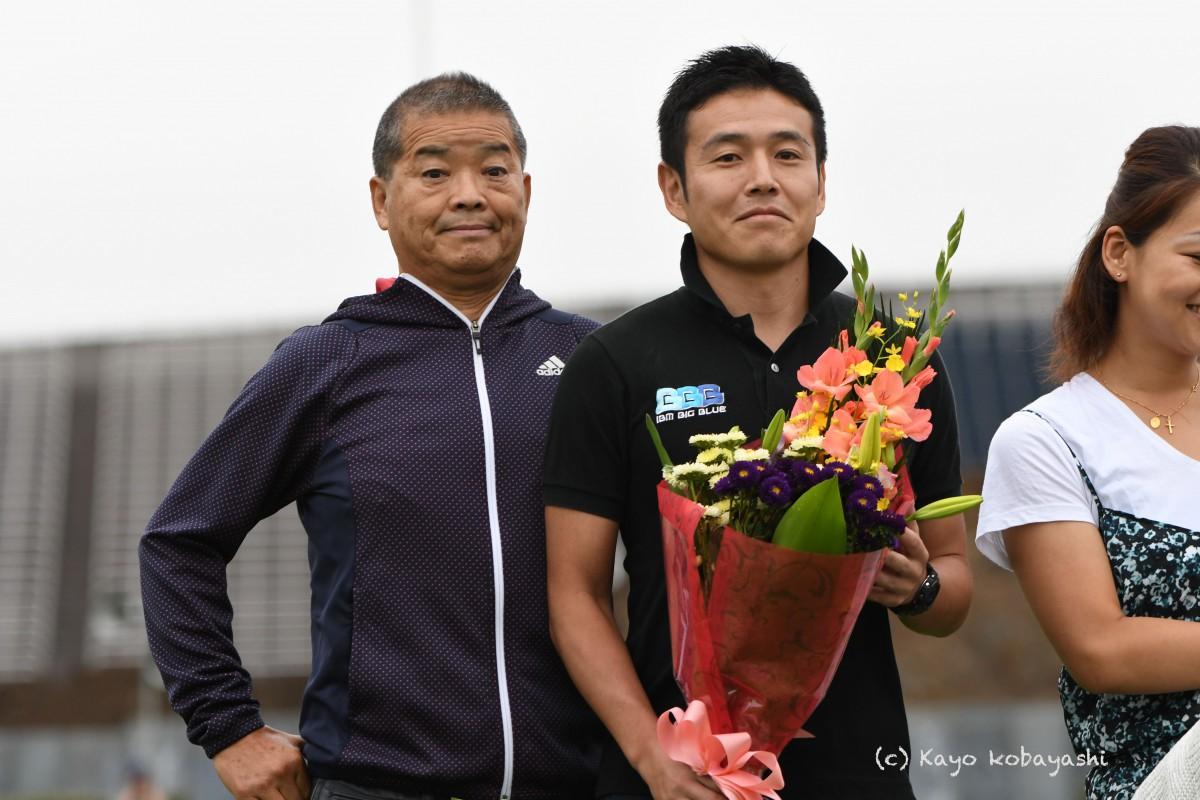 山中選手引退セレモニーの写真の写真8