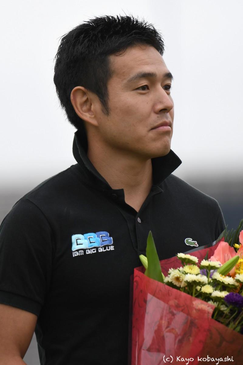 山中選手引退セレモニーの写真の写真7