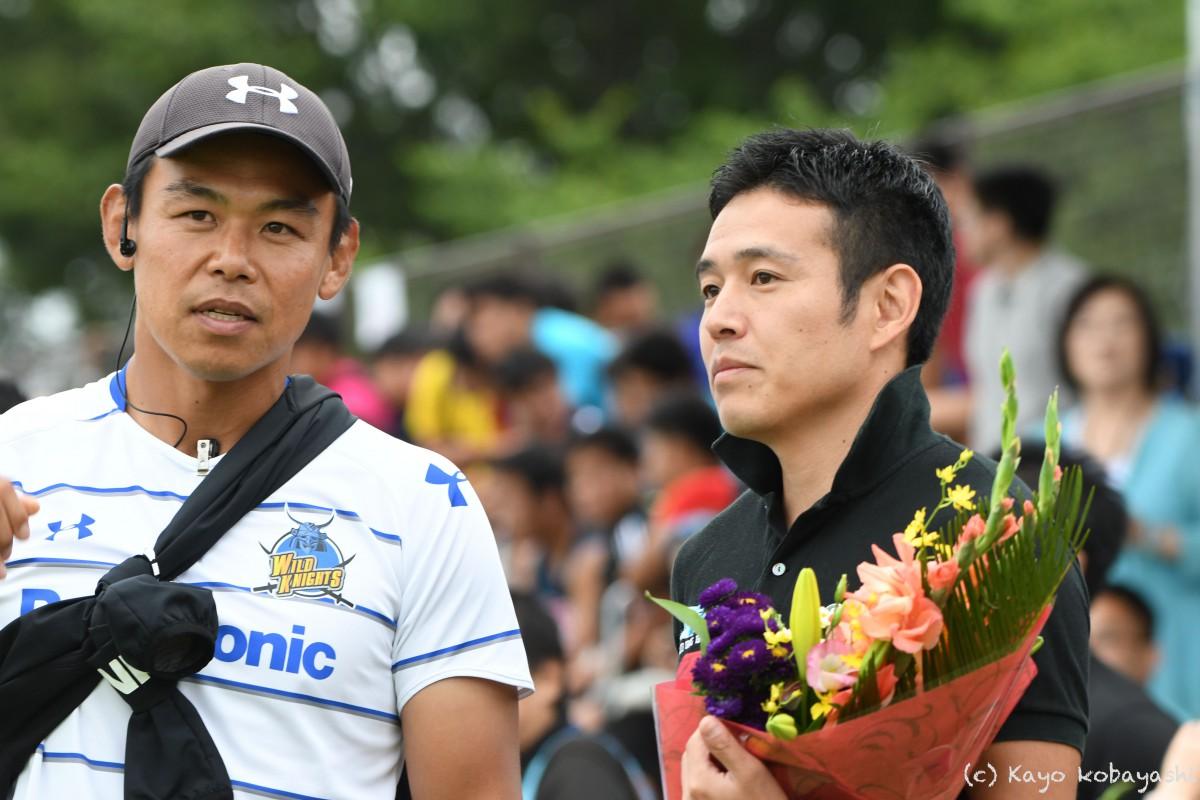 山中選手引退セレモニーの写真の写真5