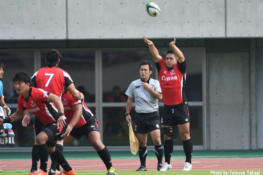 10月8日 トップリーグフォトギャラリー キヤノン-豊田自動織機 1/2の写真9