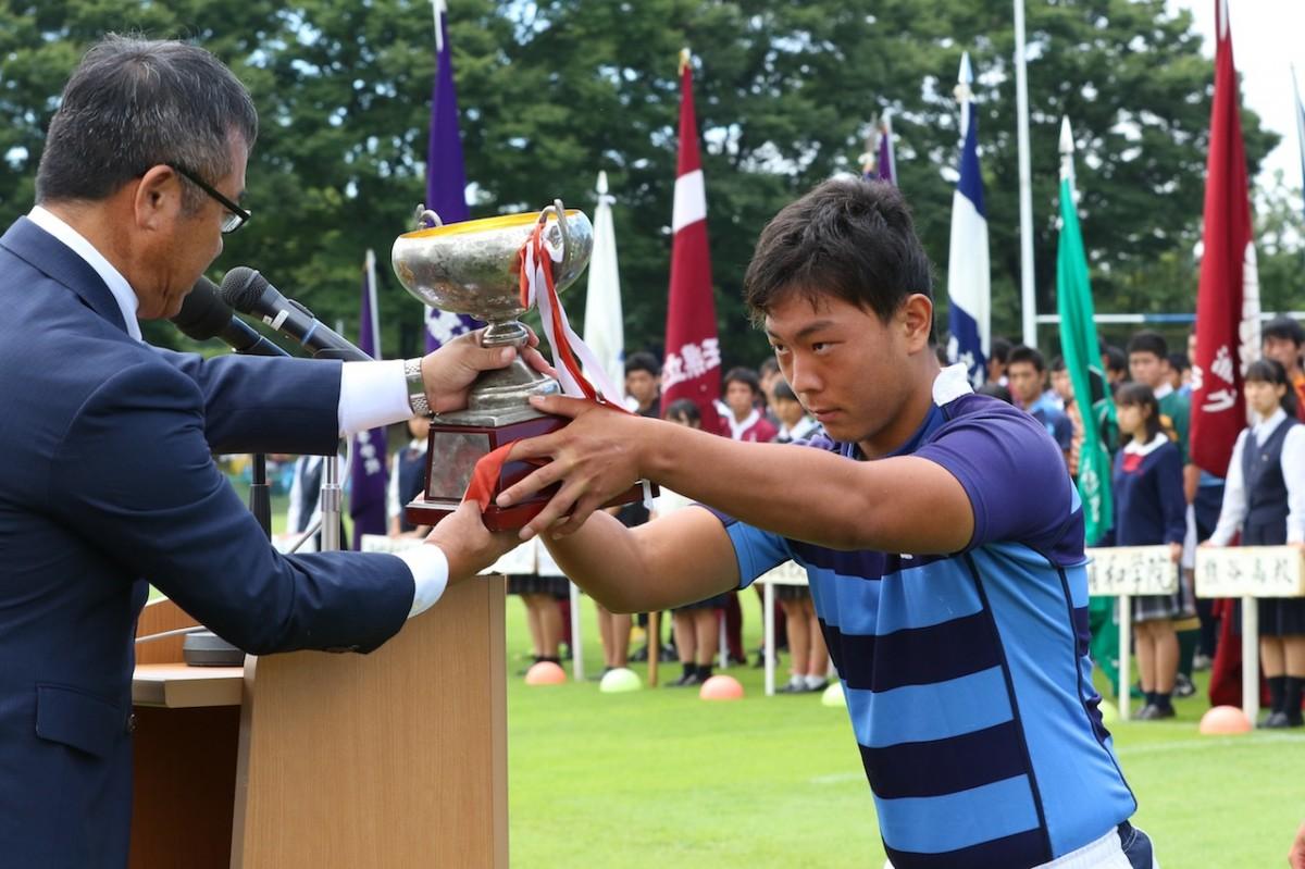 第97回全国高等学校ラグビーフットボール大会埼玉県開会式の写真11