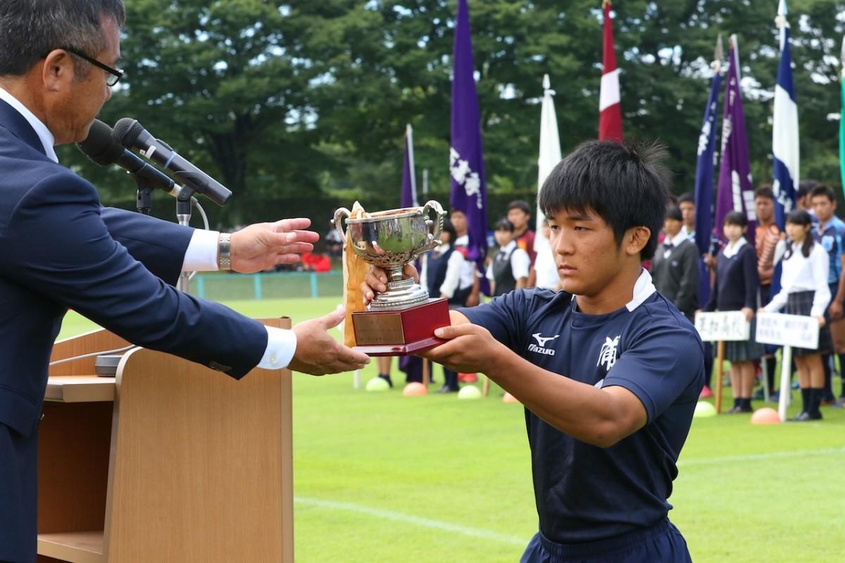 第97回全国高等学校ラグビーフットボール大会埼玉県開会式の写真12