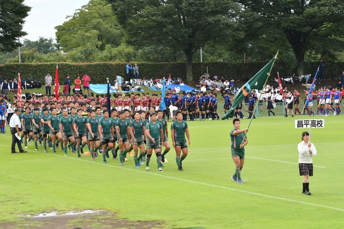 第97回全国高等学校ラグビーフットボール大会埼玉県開会式の写真3