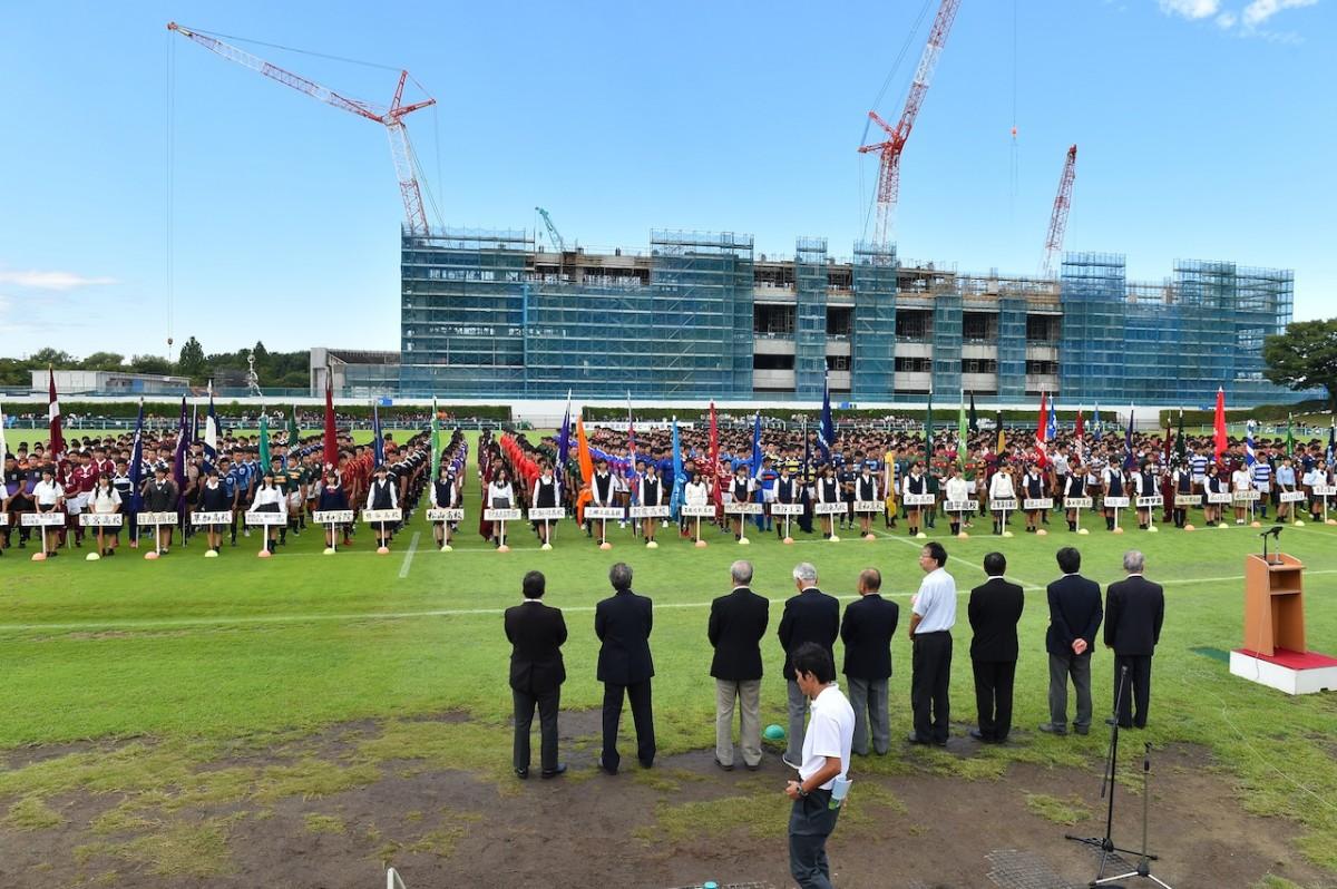 第97回全国高等学校ラグビーフットボール大会埼玉県開会式の写真10