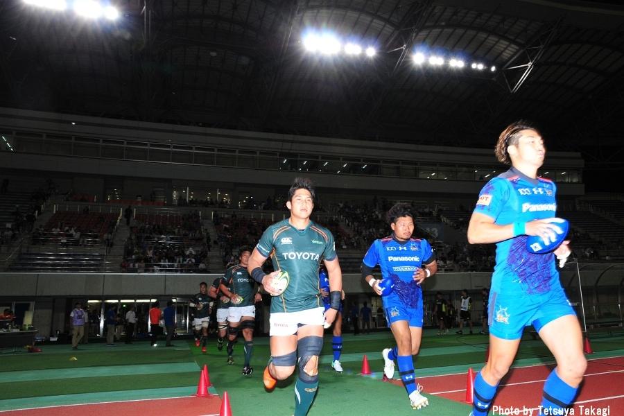 ジャパンラグビートップリーグ2017-2018             第5節 パナソニック ワイルドナイツ VS トヨタ自動車ヴェルブリッツの写真1