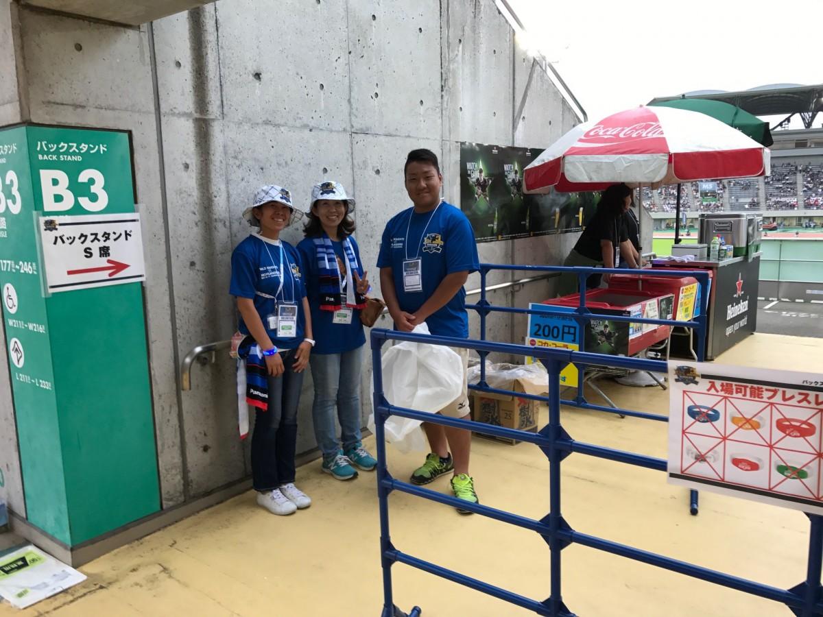 ボランティアスタッフ(BAND)活動の写真2