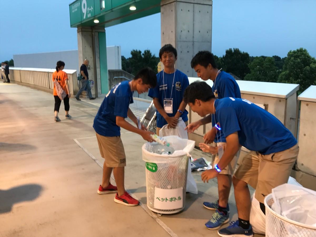 ボランティアスタッフ(BAND)活動の写真4