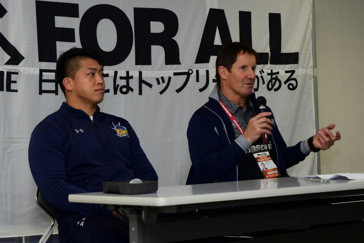 ジャパンラグビートップリーグ2017-2018              第11節パナソニック ワイルドナイツVS宗像サニックスブルースの写真31