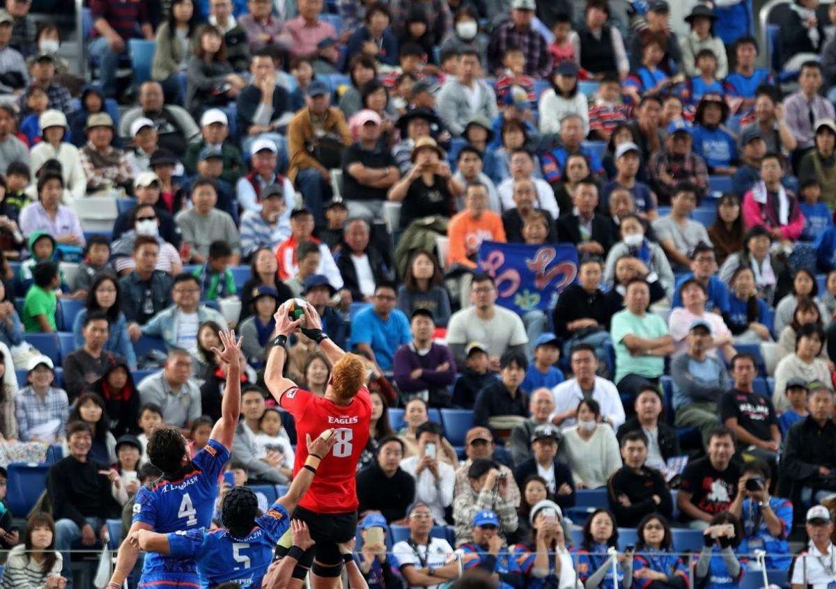 10月20日こけら落し記念試合 パナソニック ワイルドナイツ vs キヤノンイーグルスの写真9