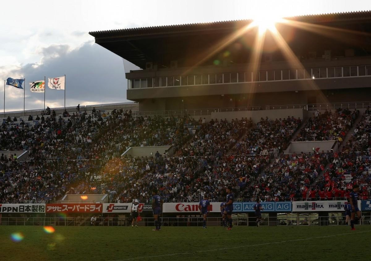 10月20日こけら落し記念試合 パナソニック ワイルドナイツ vs キヤノンイーグルスの写真28