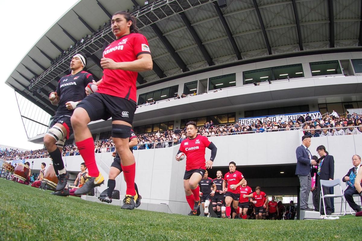 2月15日 トップリーグ第5節ギャラリー Honda  vs キヤノン①の写真1